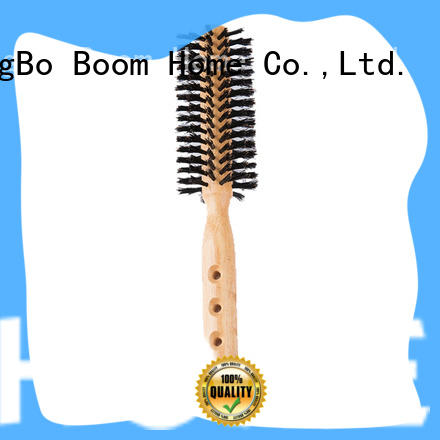 Latest round boar brush wooden manufacturers for household