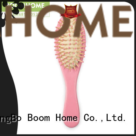 portable wood hair brush growth for shop Boom Home