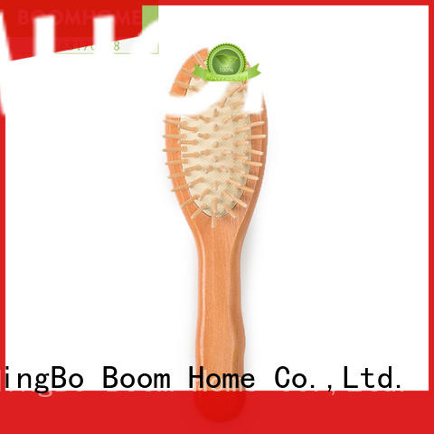 eco-friendly wooden hair brush gifts factory for hotel