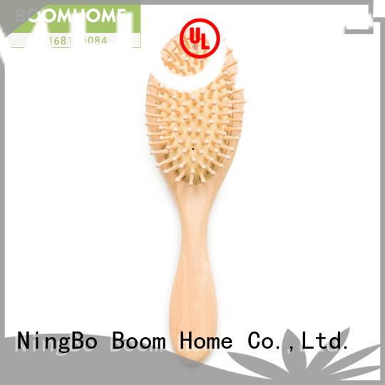 Boom Home price wooden hair brush inquire now for hotel