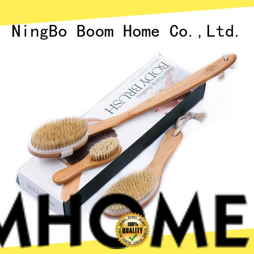 Boom Home fibers baby bath brush series for body
