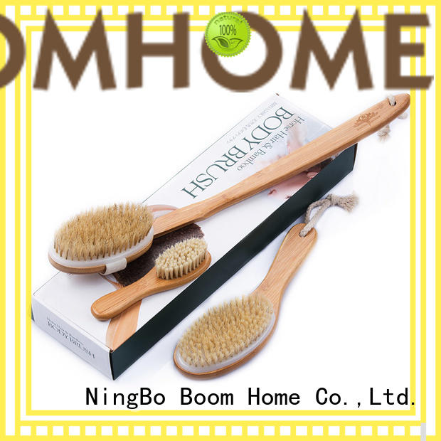 baby bath brush bamboo for shower Boom Home