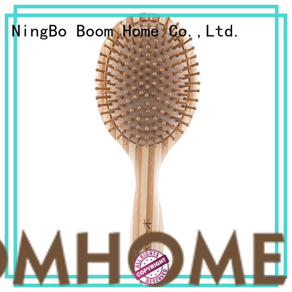smooth bamboo comb silicone supplier for thick hair