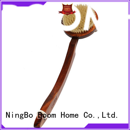 curved body brush bamboo directly sale for body