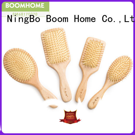 noble wooden hair comb compact with good price for home