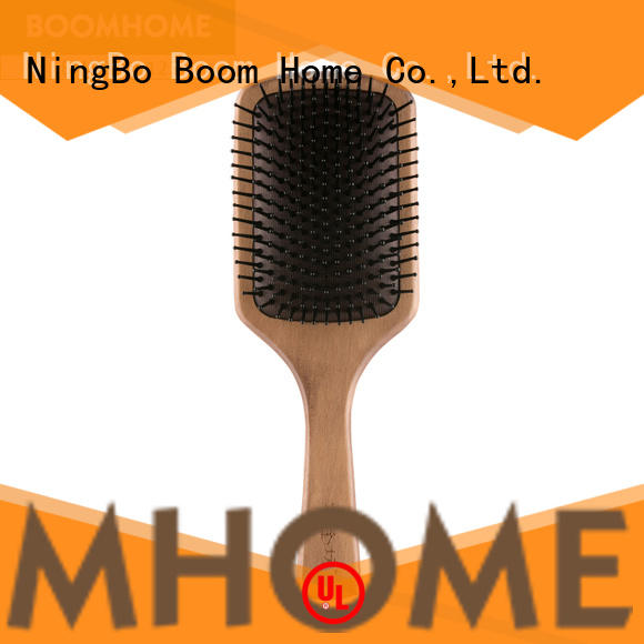 Boom Home oval wooden comb inquire now for shop