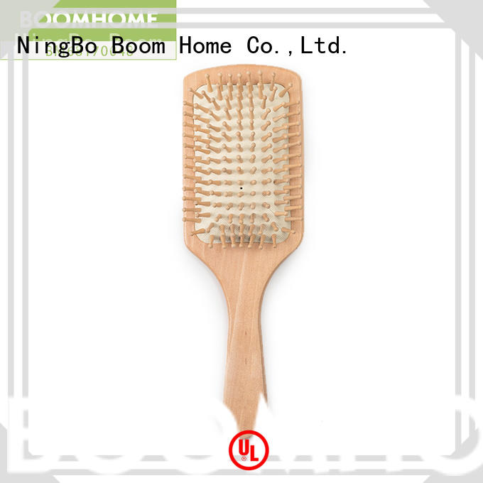 Boom Home dry bamboo comb supplier for curly hair