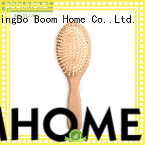 Boom Home bristle wooden comb company for travel