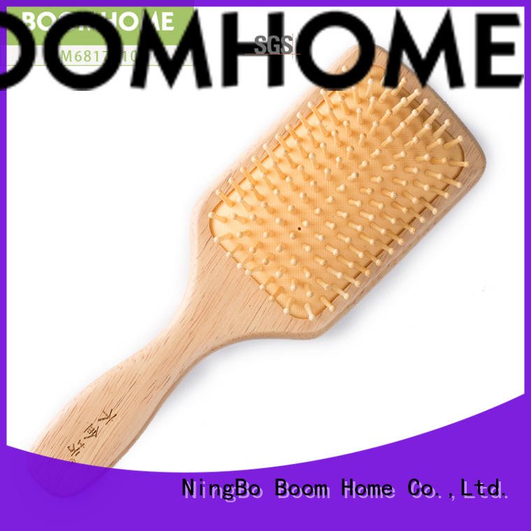 noble wooden hair comb dryer with good price for travel