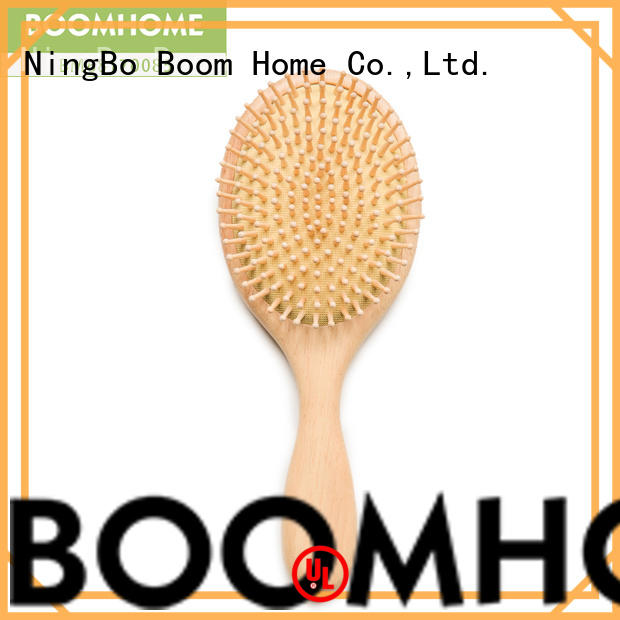 Boom Home Best wooden hair brush supply for hotel
