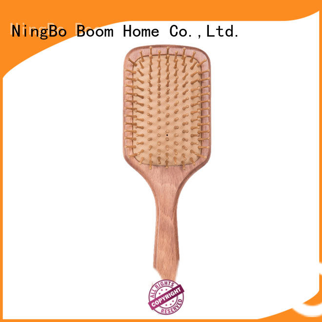 paddle wood hair brush boar for household Boom Home