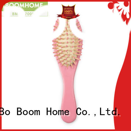 Boom Home anti-static wooden paddle hair brush straightener for home