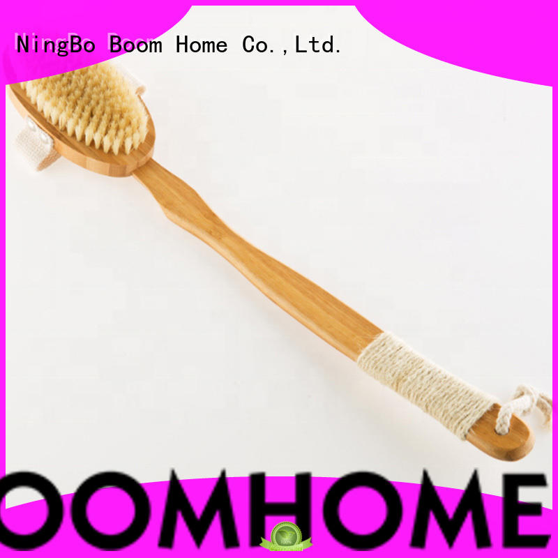 Natural Bristle Dry Skin Body Brush