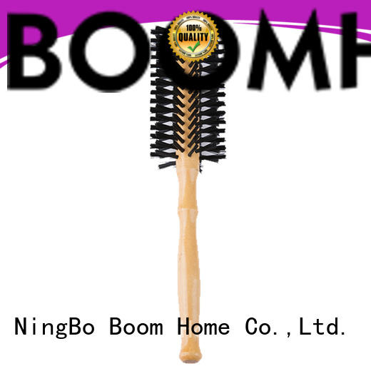 Boom Home anti-frizz barrel hair brush wholesale for cleaning