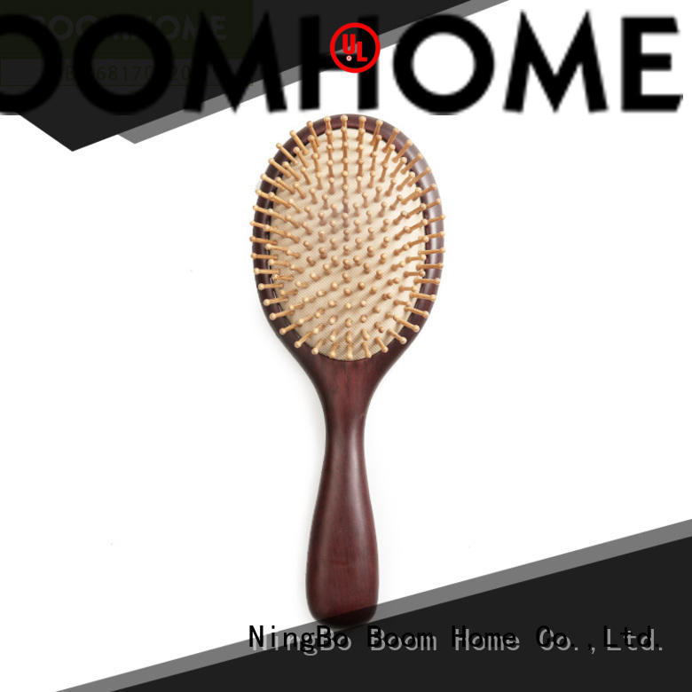 Boom Home bamboo wooden handle hair brush company for home