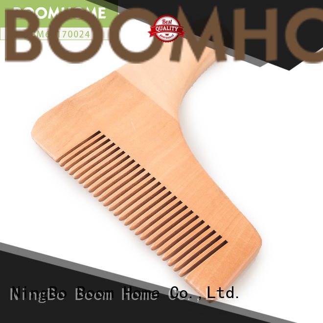 Boom Home noble wooden boar bristle brush black for shop