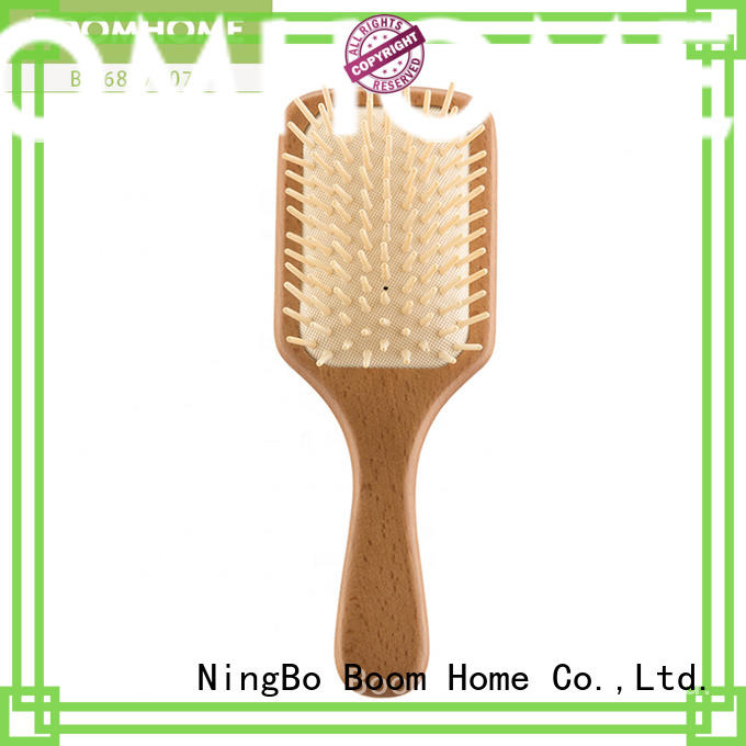 bristle wooden hair comb supplier for hotel Boom Home