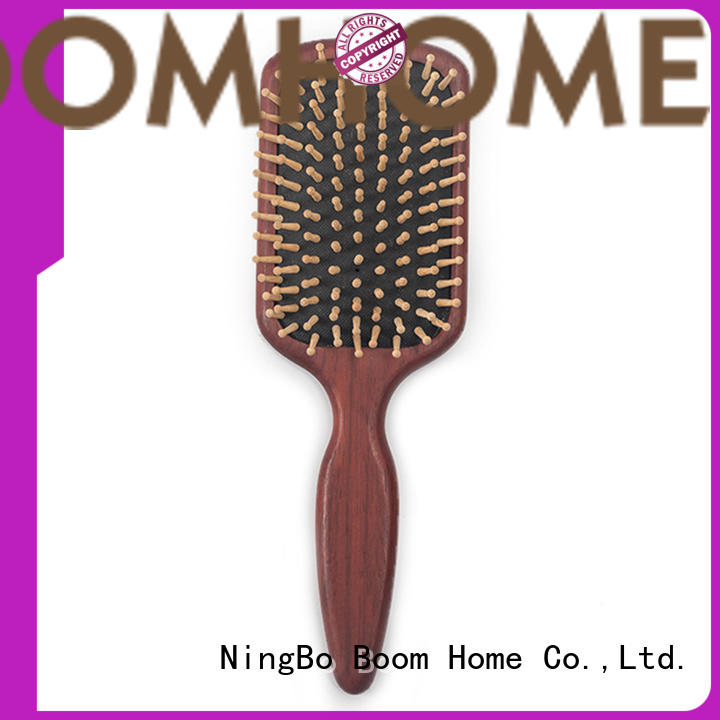 Boom Home airbag wooden paddle hair brush inquire now for shop