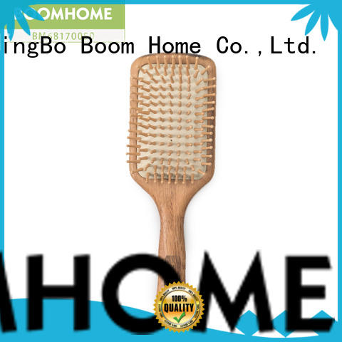 anti-static wooden paddle hair brush stainless inquire now for travel