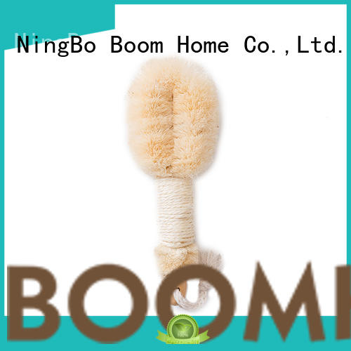Boom Home curved body brush from China for dry skin