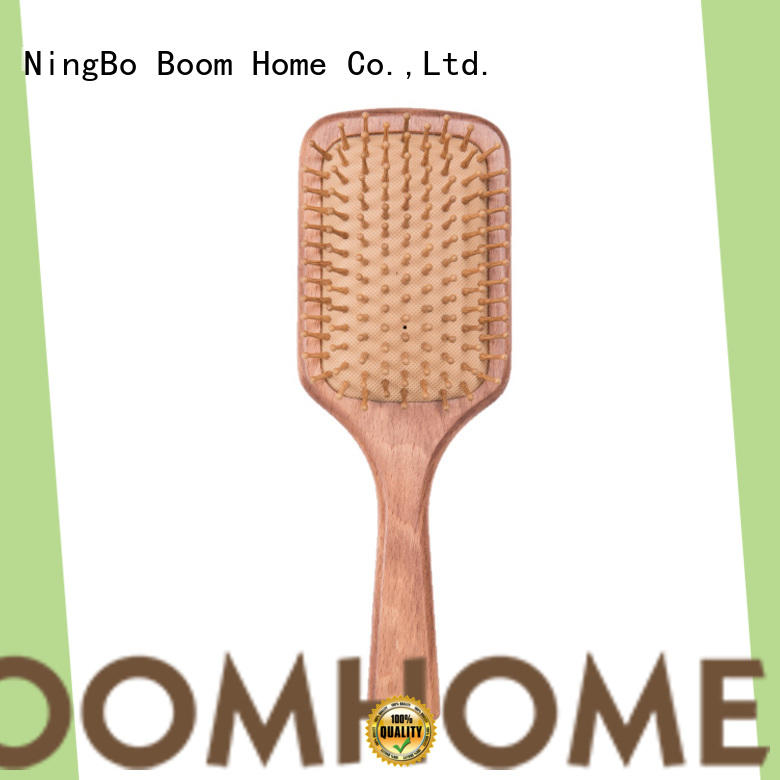 Boom Home Custom wood hair brush company for shop