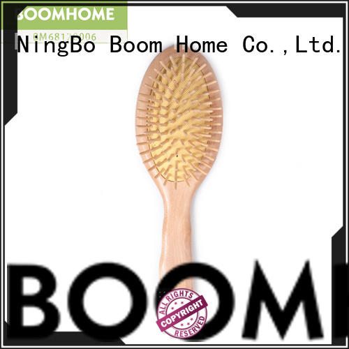 Boom Home beauty wood hair brush factory for hotel