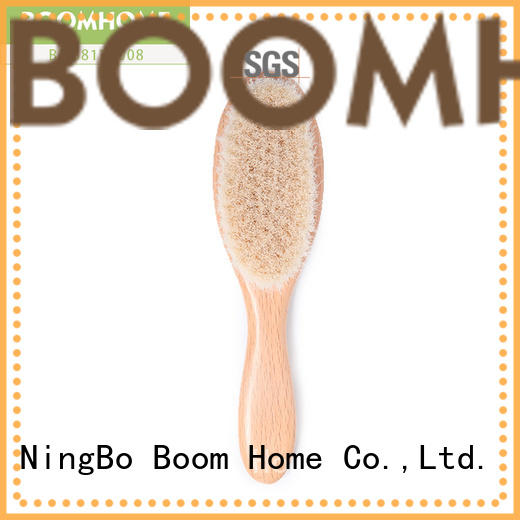 round baby hair brush and comb set bristles manufacturer for trottie