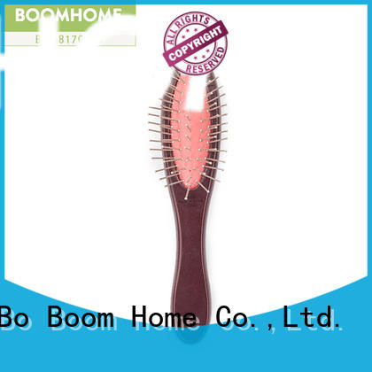 round wooden paddle hair brush fashion design for travel