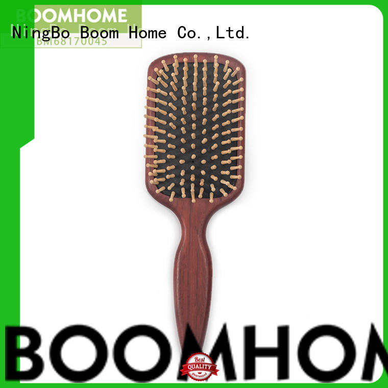 steel mens wooden hair brush factory for shop Boom Home