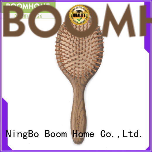 Boom Home small wooden handle hair brush design for home