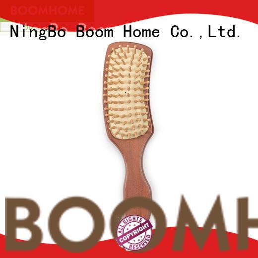 Boom Home bespoke wooden paddle brush design for shop