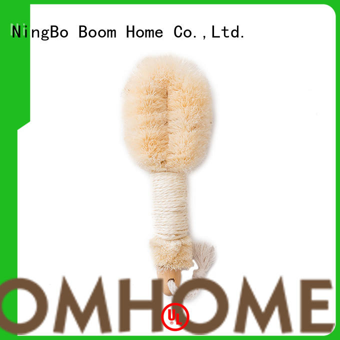 Boom Home long handle baby bath brush customized for dry skin