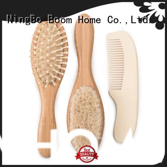 bristle newborn baby hair brush factory for infant Boom Home