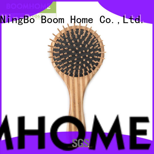 dry bamboo pin brush supplier for thick hair Boom Home