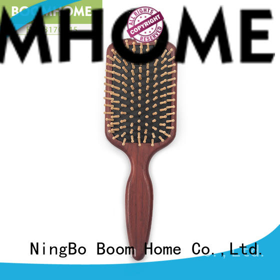 Boom Home anti-static paddle hair brush series for home