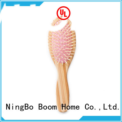 Boom Home Top bamboo hair brush for business for curly hair