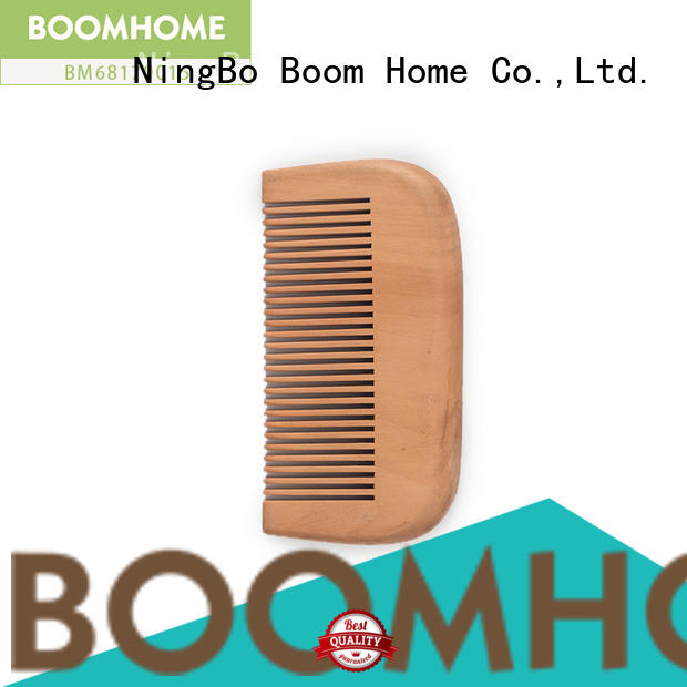 New wooden paddle brush combs factory for hotel