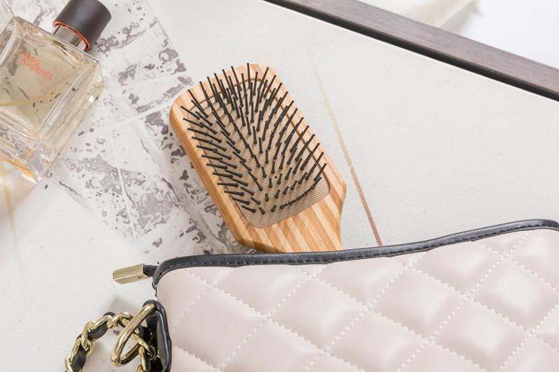 Boom Home oval bamboo paddle brush wholesale for curly hair-3