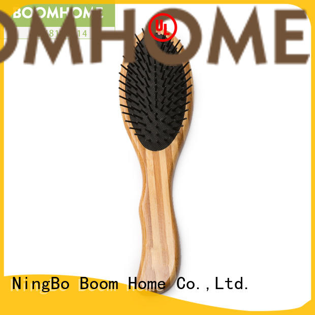 smooth bamboo paddle brush paddle supplier for men