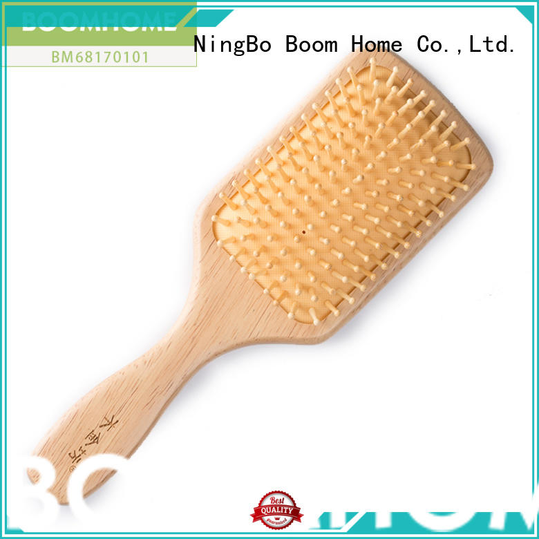 eco-friendly wooden hair comb grooming with good price for hotel