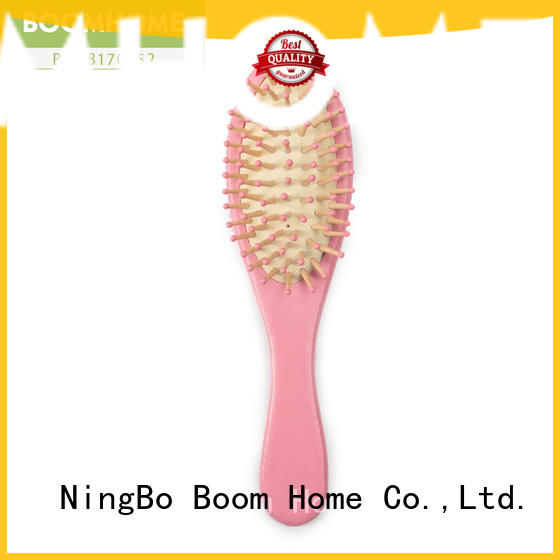 noble wooden handle hair brush personalized inquire now for hotel