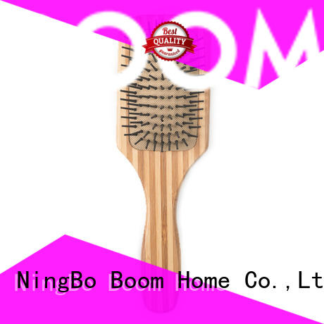 smooth bamboo pin hair brush supplier for women