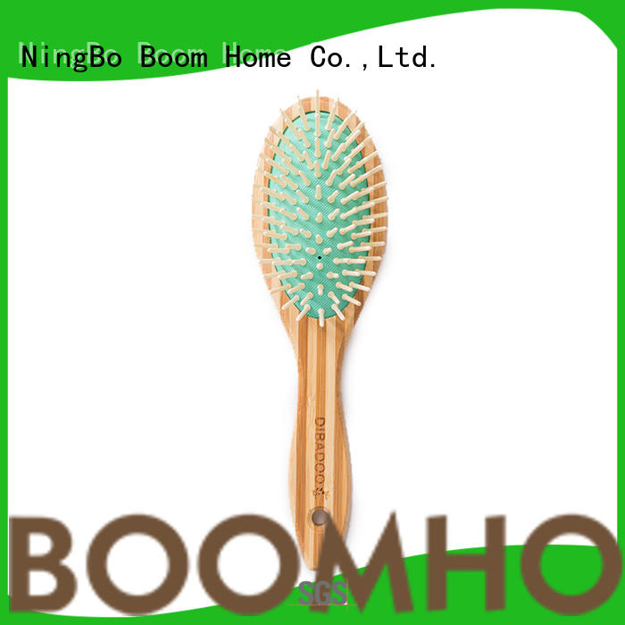 bamboo pin hairbrush massage for men Boom Home