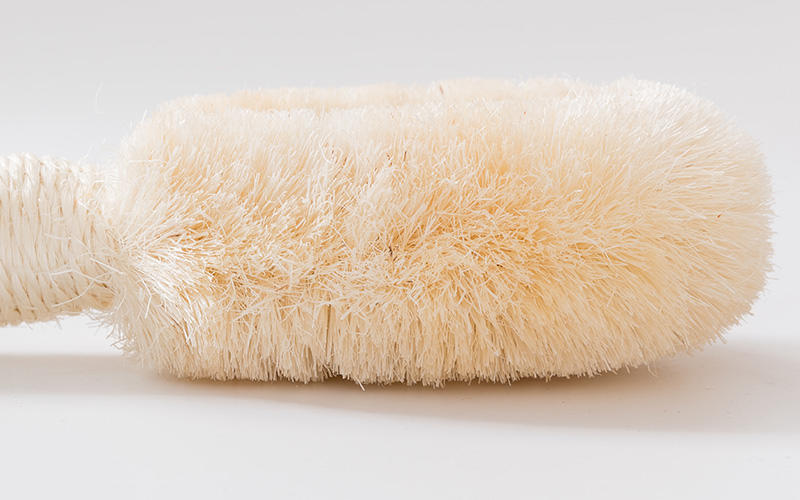 Natural Fibers Shower Back Brush For Dry Skin-3