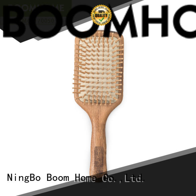 compact wooden hair brush inquire now for hotel