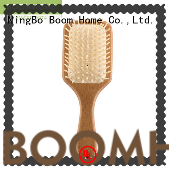 Boom Home health wooden comb factory for home