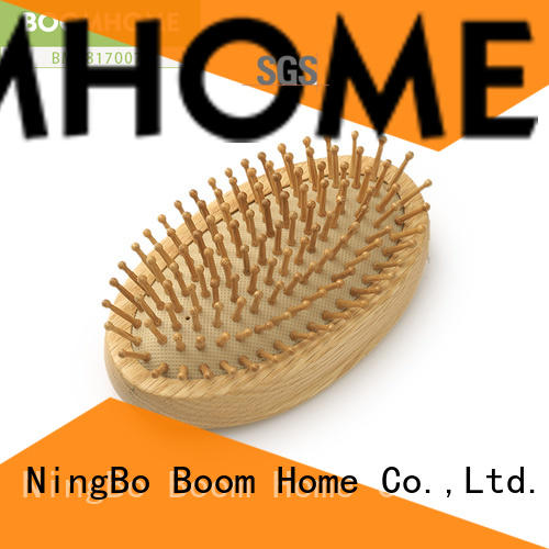 large wooden handle hair brush no factory for shop