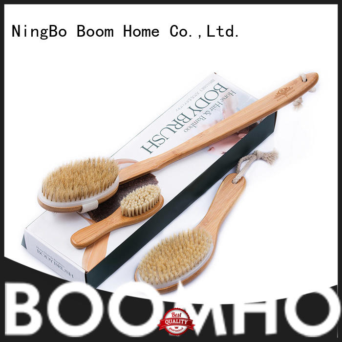 Boom Home beech baby bath brush series for body
