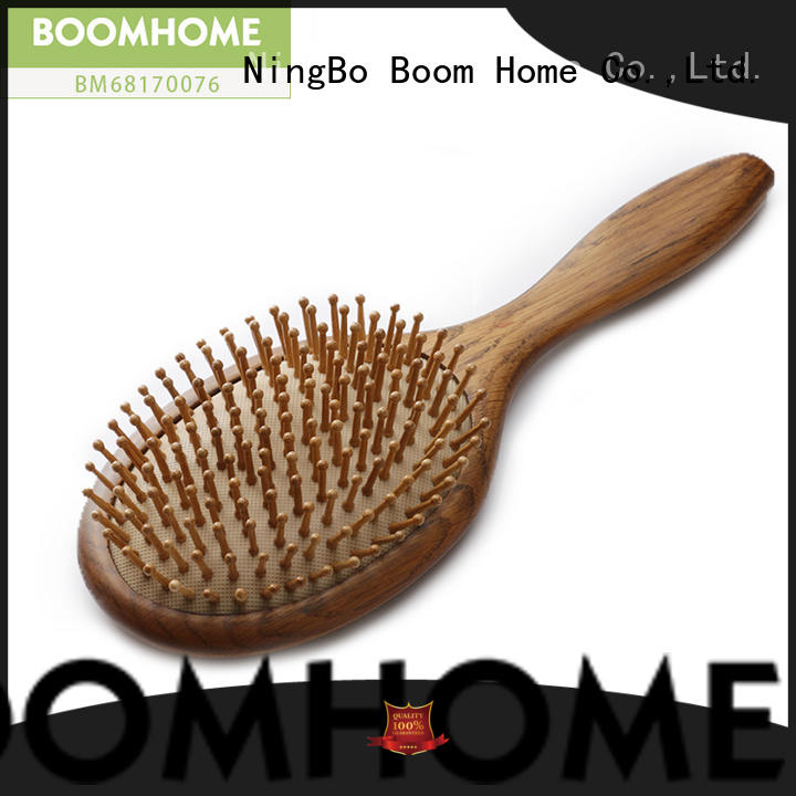 Boom Home brushes wooden handle hair brush factory for hotel