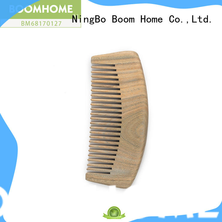 Boom Home mahogany wooden comb for business for travel
